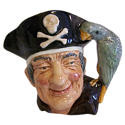 SALE Royal Doulton Long John Silver Toby Mug 1951