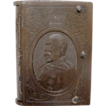Gutta Percha Match Safe Edward VII Commemorative Portrait