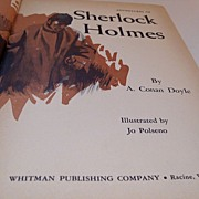 "Whitman Classic Book ""The Adventures of Sherlock Holmes"""