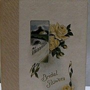 "Book ""Bridal Flowers""  of 1925 Minnesota Bride"