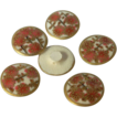 Set of Small  Satsuma Buttons