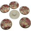 Medium Size Set of Satsuma Buttons 6
