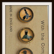SOLD Set of Waistcoat Guinness Buttons