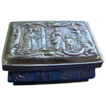Small Victorian English Sterling Scenic Box