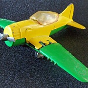 Diecast Metal Hubley Kiddie Toy  Airplane