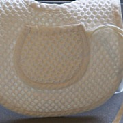 Quilted Baby Bib with Passey Holder