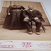 Studio Photo of Hanover Pennsylvania Husband and Wife