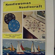"English Magazine ""Needlewoman Needlecraft"" 1962"