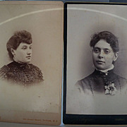 Studio Photos of Two Women