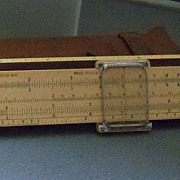 Two Slide Rulers from Bucknell Student