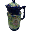 Nippon  Cobalt Blue Coffee Pot with Josephine on Front