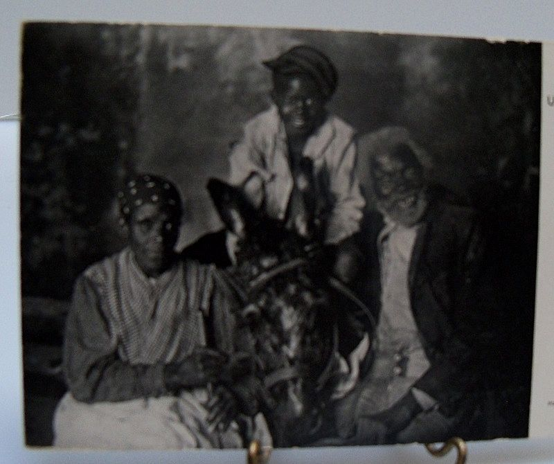 Postcard Photo Ethnic