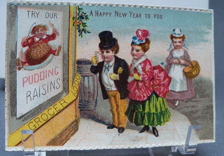 Tiny Happy New Year Greeting Card