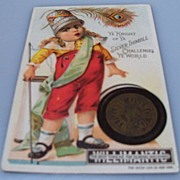 "Advertising Trade Card ""Willimantic Thread Co."""