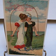 "Advertising Trade Card  ""Acme Soap"""