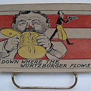 "Postcard ""Down Where The Wurtzburger Flows"
