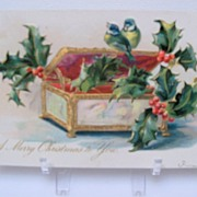 "Postcard Tuck's ""A Merry Christmas to You"""