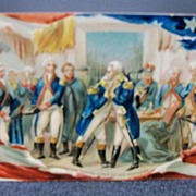 "Postcard Tuck's ""Washington's Birthday""  Series No. 156"