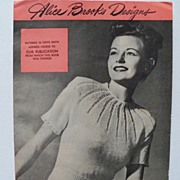 "Magazine ""Alice Brooks Designs"""