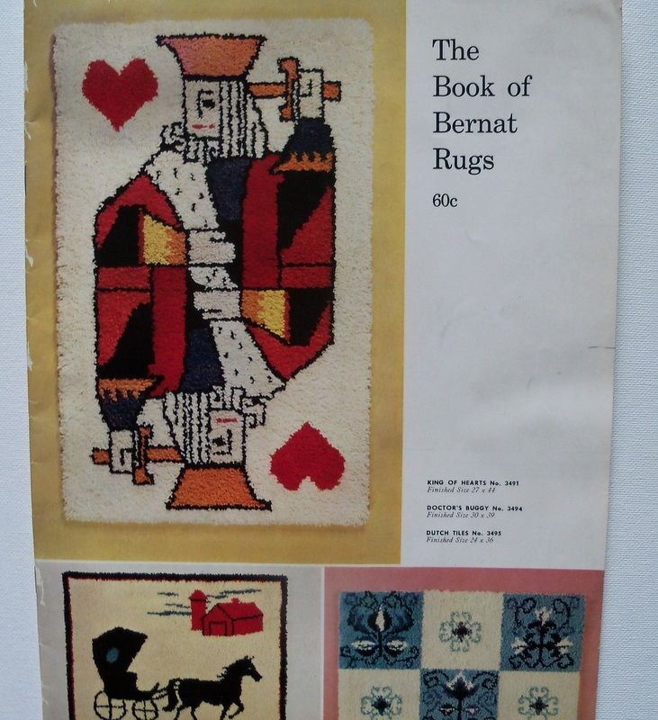 "Magazine ""The Book of Bernat Rugs ""1961"