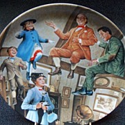 "Knowles Disney Plate ""Mary Poppins We Love to Laugh"""