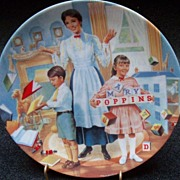 "Knowles Disney Plate ""Mary Poppins A Spoon Full of Sugar"""