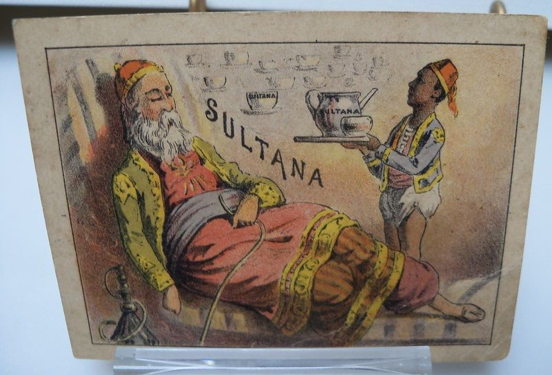 "Advertising Trade Card ""Sultana Coffee"""