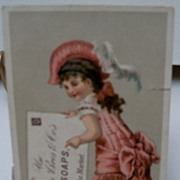 "Advertising trade card ""Soap"""