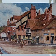 "Postcard Tuck's Oilette ""Picturesque Bucks"" Series II ""High Street Great Messen"