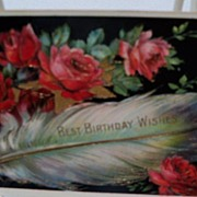 "Postcard ""Best Birthday Wishes"""