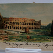 Postcard Tucks &quot;Classic Rome&quot; No. 125
