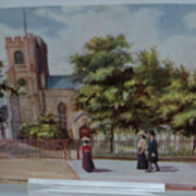 "Postcard Tuck's Oilette ""Walthamstow"" Series St. Mary's Church"