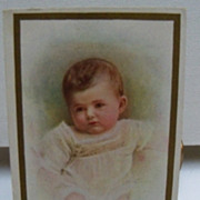 Postcard Baby Birthday