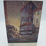 "Postcard Tuck's  ""In Dickens Land"" The Old Curiosity Shop"
