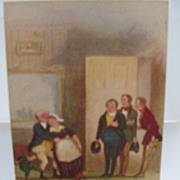 "Tuck's Postcard ""In Dickens Land"" The Pickwick Papers No. 6012"