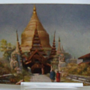 "Tuck's Postcard ""Wide Wide World""  Burma"