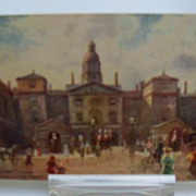 "Tuck's Oilette Postcard ""Changing Guards Whitehall"""