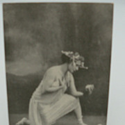 Scantily  Clad Actress Photo Postcard ?Myrtell&quot;