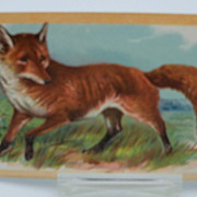 "Tuck Postcard """"Wild Animals"" The Fox"