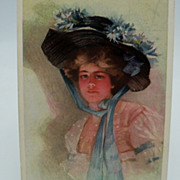 Philip Boileau Lady Postcard