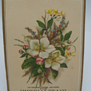 "Advertising Trade Card ""Imperial Tea Co"""