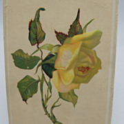 Advertising Giveaway Card Rose