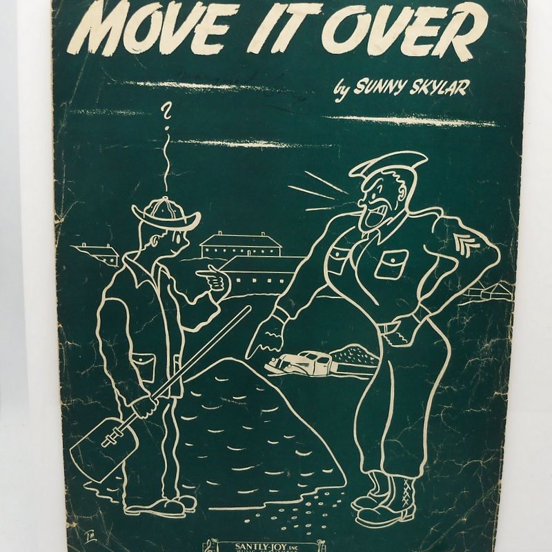 "Sheet Music ""Move it Over"""