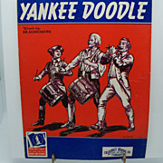 Sheet Music &quot;Yankee Doodle&quot;