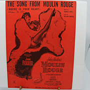 Sheet Music &quot;Moulin Rouge&quot;