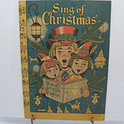 "Sheet Music Booklet  ""Sing of Christmas"""