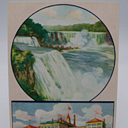 Advertising Postcard Shredded Wheat Niagara Falls