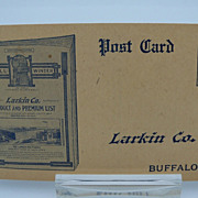 Advertising Larkin Postcard for 1912 Catalog
