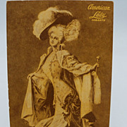 Advertising Postcard American Lady Corsets