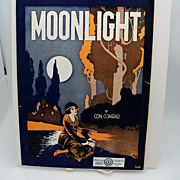 Sheet Music &quot;Moonlight&quot;